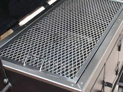Expanded Metal Bbq Grill For Party And Dinner