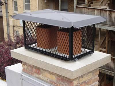 Expanded Metal Chimney Cap For Single Or Multi Flue
