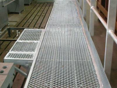 Expanded Metal Grating For Platform Stairs And Walkway
